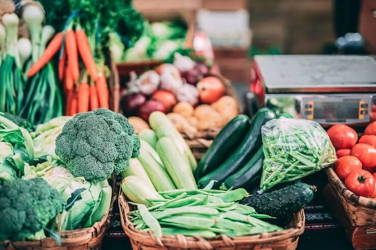 Clean, Fresh, and Organic Food